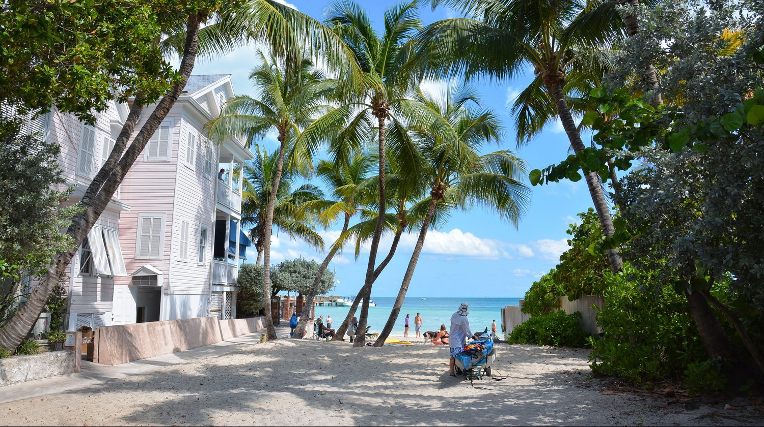 Beach at Key West