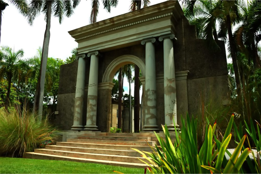 Roman architecture used on Puerto Rico college campus