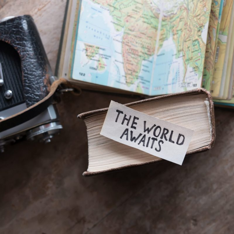 Traveler Inspiration - World Awaits