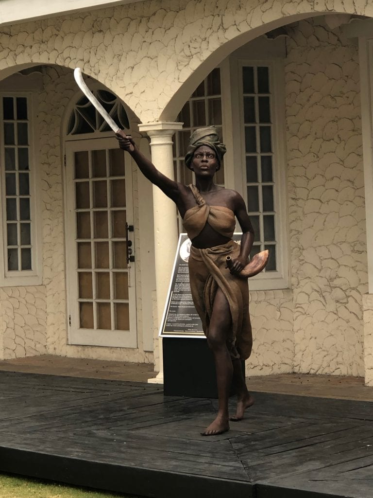 Statue of Queen Nanny of the Maroons